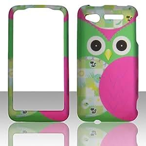2D Night Bird HTC Merge / Lexikon ADR6325 Verizon Wireless, U. S. Cellular Case Cover Hard Protector Phone Cover Snap on Case Faceplates