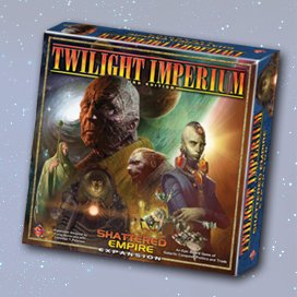 Twilight Imperium Shattered Empire Expansion by Fantasy Flight Games