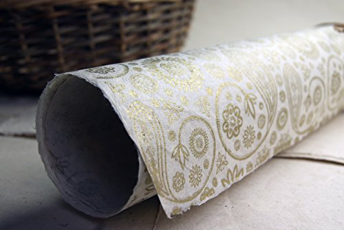 Golden Paisley Pattern Handmade Gift Wra - Paisley Pattern Paper Shopping Results