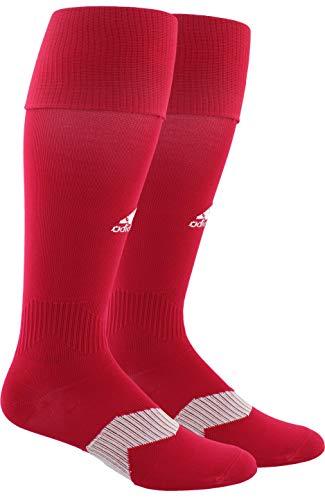 adidas Unisex Metro IV OTC Soccer Sock (1-Pair), Unity Pink/White, 9-13