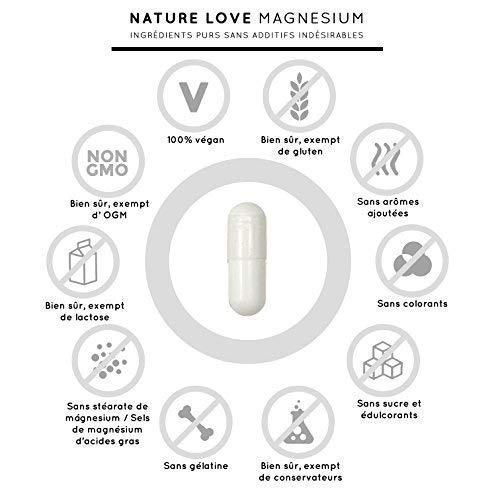 Magnésium – 1500 mg citrate de magnesium, dont 240 mg de magnésium élémentaire par dose quotidienne. 180 capsules gélules. Testé en laboratoire et sans magnésium stearate. Dosage élevé, végan, fabriqué en Allemagne