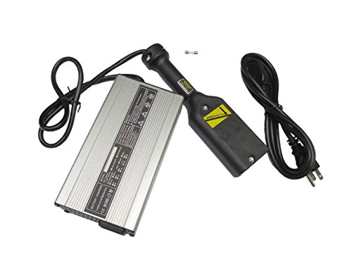 NEW 36V EZ-GO Powerwise 36 Volt TXT Medalist Golf Cart Battery Charger''D'' Style by JEM&JULES (Image #4)