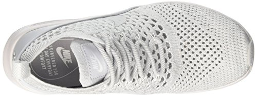 Nike Damen Air Max Thea Ultra Flyknit Laufschuhe Elfenbein (Pure Platinum/pure Platinum/white)