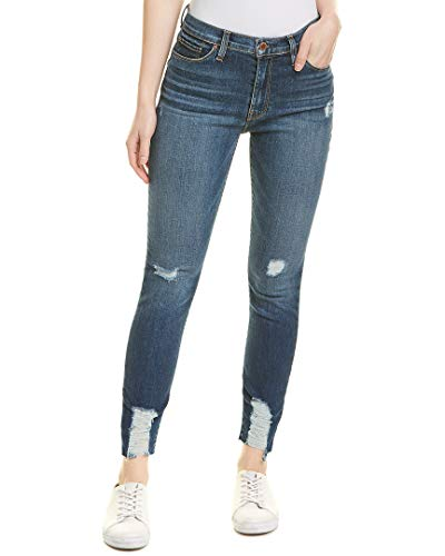 Hudson Jeans Women's Barbara HIGH Waist Super Skinny Ankle 5 Pocket, Lockdown, 26