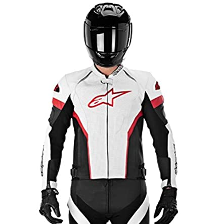 most reliable unbeatable price the cheapest Alpinestars GP Plus R Perforated Perforated Men's Leather Motorcycle  Jackets - Black/Red/White / 58