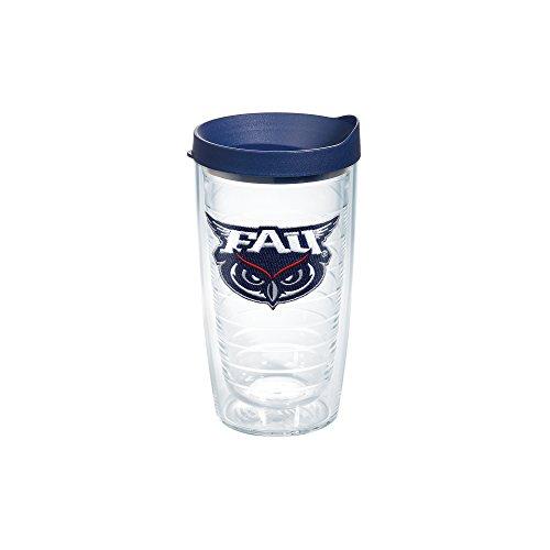 Fau Owls (Tervis FAU Owls Logo 16oz Clear Tumbler with Navy Lid)