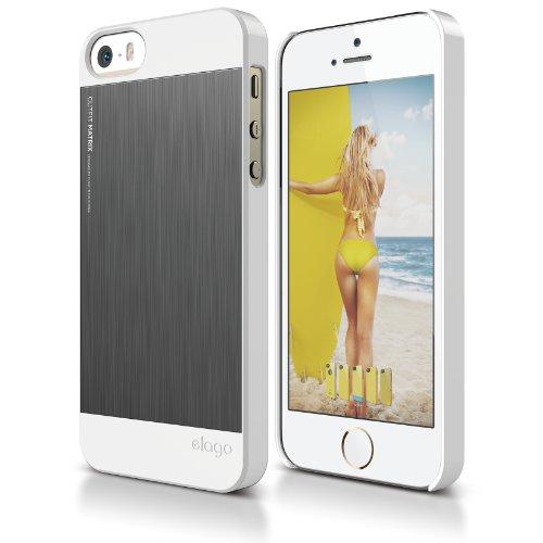 iPhone elago Outift Matrix White