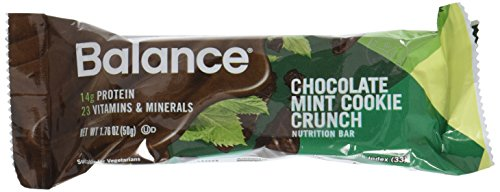 Balance Bar Chocolate Mint Cookie Crunch Triple Pack, 18 Count