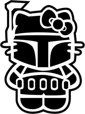 Hello Kitty Star Wars Boba Fett 4