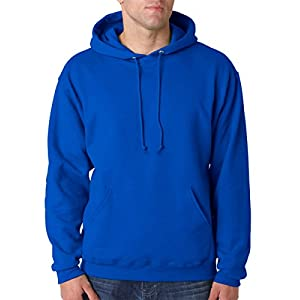 JERZEES Mens NuBlend Pullover Hooded Sweatshirt, Medium, Royal