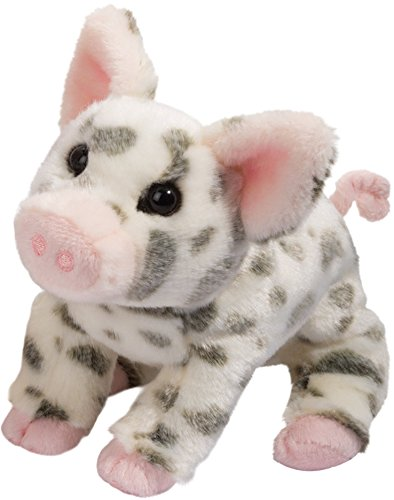 Douglas Pauline Spotted Pig Small Plush Stuffed Animal -