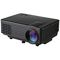 BAALAND H1 LED LCD (WVGA) Mini Video Projector - International Version (No Warranty) - DIY Series - Black (FP8048H1-IV3)