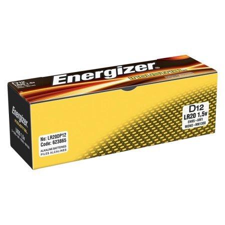 Energizer Alkaline Battery, Size D