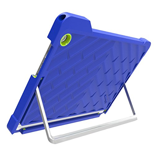 Gumdrop Cases Droptech for HP Elite x2 1012 G1 Rugged 2-in-1 Tablet Case Shock Absorbing Cover Royal Blue/Lime T8Z03UT#ABA