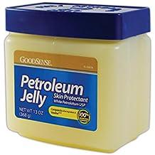 Good Sense 761106 Petroleum Jelly, 13 oz. Jar, Clear