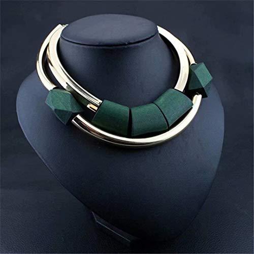 [해외]LOSOUL Choker Necklace Retro round circle metal exaggerated elegant necklace / LOSOUL Choker Necklace Retro round circle metal exaggerated elegant necklace