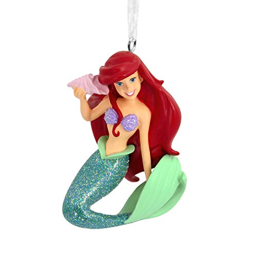 Hallmark Christmas Ornaments, Disney The Little Mermaid Ariel With Seashell Ornament ()