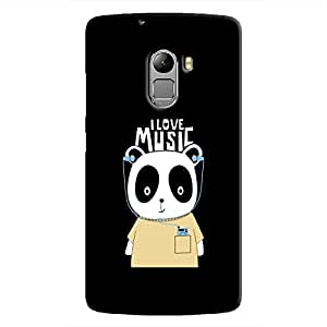 Cover It Up - Music Panda K4 Note Hard Case