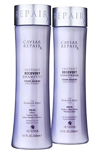 CAVIAR Anti-Aging Restructuring Bond Repair Shampoo and Conditioner Set, 8.5-Ounce ()