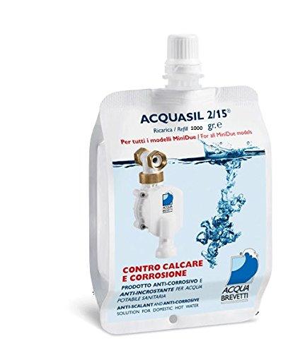 acquabrevetti Acquasil 2/15® liquide en poche de 1000gr pour pompes doseuses MiniDUE