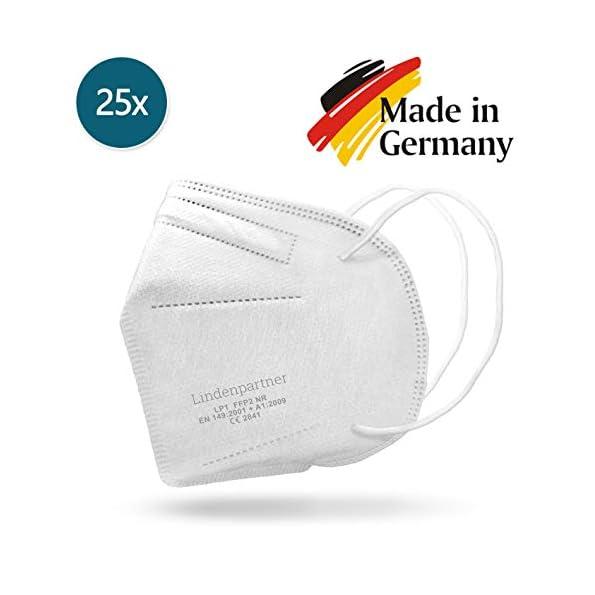 Lindenpartner-Mundschutz-FFP2-Atemschutzmaske-25er-Set-Made-in-Germany-geprft-und-Zertifiziert-CE-Prfziffer-2841