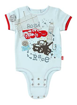 Disney Cuddly Bodysuit -  Fashion: Disney / Pixar CARS Road Race , Light Blue, 0-3 Months
