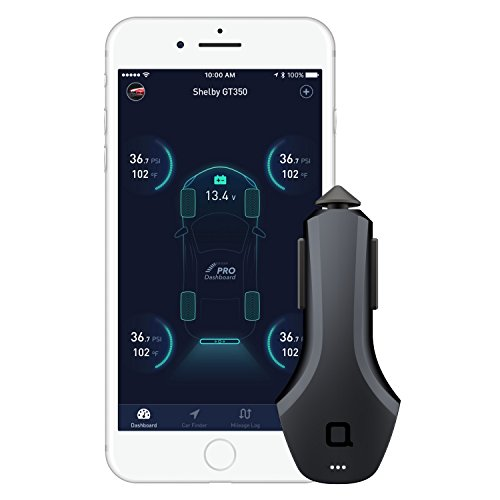 nonda ZUS Connected Car App Suite & Smart Car Charger, Save Parking Location, Monitor Car Battery Health, Mileage Log- No OBD Port Required, Best Companion for Navdy, Automatic, Vyncs, Linxup, Carlock