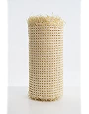 """18x18"""" Rattan Webbing for Caning Projects Natural Pre - Woven Open Mesh Cane - Natural Rattan Cane Webbing"""