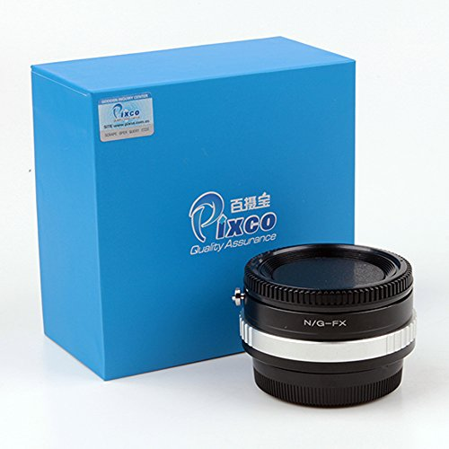 Pixco Focusing Infinity Speed Booster Focal Reducer with Optical Glass Lens Adapter for Nikon G Lens to Fujifilm X Camera X-A5 X-A20 X-A10 X-A3 X-A2 X-A1 X-T2 X-E3 X-E2S X-E2 X-E1 X-T100 X-T10 X-T1I