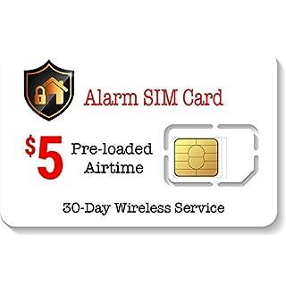 $5 Alarm SIM Card for GSM Home/Business Security Alarm System