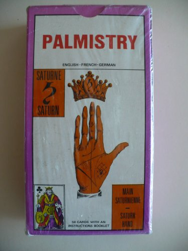 Palmistry (56 CARDS and Instruction book in French English) Jeu de la main