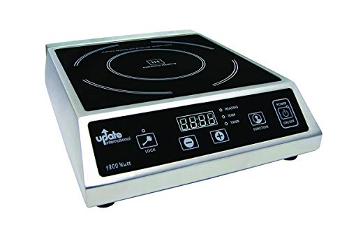 "Update International IC-1800WN Induction Cooktop, 15.5"", Black"