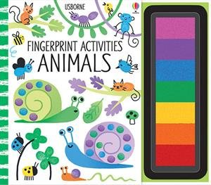 Art Fingerprint (Fingerprint Activities Animals)