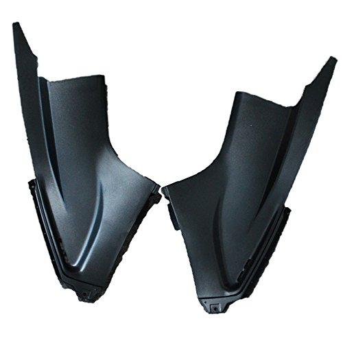 ZXMOTO Unpainted Ram Air Dust Tube Cover Fairing For Yamaha YZF R6 2003 2004 2005 /R6S 2006 2007 2008 2009 Left & Right