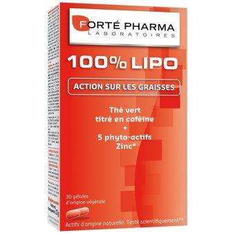 Forté Pharma Turboslim 100% Lipo 30 Cáps.: Amazon.es: Salud y cuidado personal