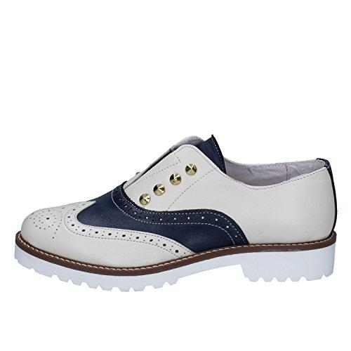 RUBINI Lacets Blu OLGA Femme Beige Ville à de Pour Chaussures Pq7Tqwdcv