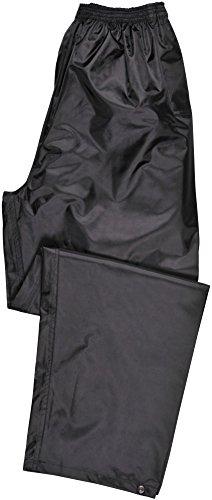Portwest S441 Rainwear Men's  Waterproof Rain Pants, Large, Black by Portwest