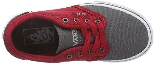 Vans Yt Atwood, Zapatillas para Niños Gris (2 Tone Gray/red)