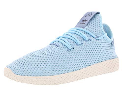 Williams Ice - adidas Originals Men's Pharrell Williams Human Race Ice Blue/Ice Blue/Blue 9.5 D US
