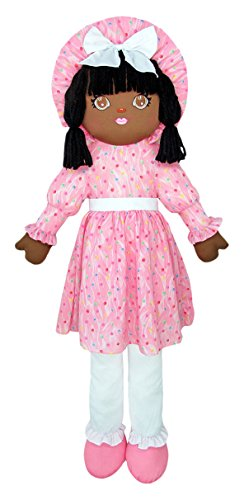 Anico Well Made Play Doll For Children Life Size Sweetie Mine, African American, 43