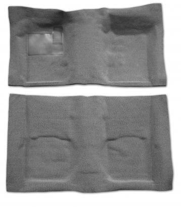 (Lower Door Panel Carpet, Black, 2-Piece)