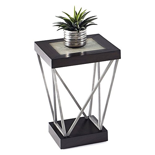 Progressive Furniture T370-29 East Bay Chairside Table, Black (Progressive Furniture End Table)