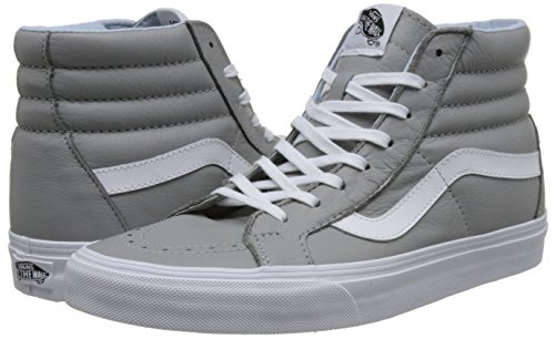 Vans Sk8-hi Reissue, Montantes Mixte Adulte - Gris (Leather-Oxford/Drizzle), 35 EU