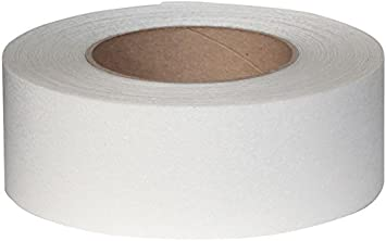Safe Way Traction 1 X 60 Foot Roll of CLEAR Rubberized Anti Slip Non Skid Safety Tape 3530-1