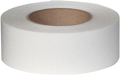 CLEAR Rubberized Anti Slip Non Skid Safety Tape 60 Foot Roll 3530-2 (60' Roll Anti Slip Tape)
