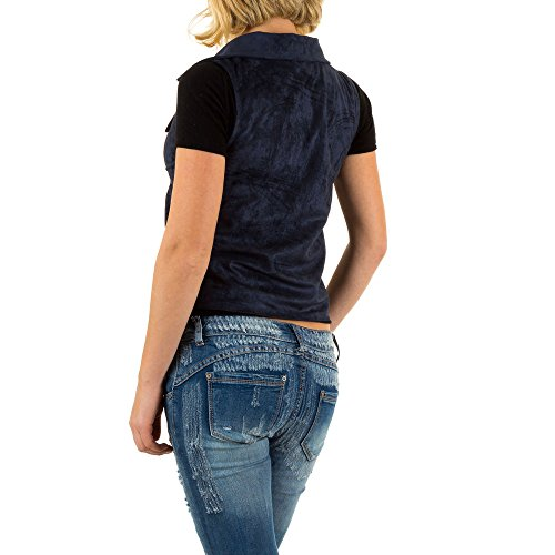 iTaL-dESiGn - Chaqueta - capa - para mujer Azul