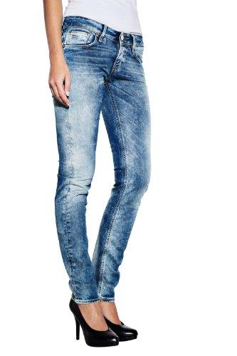 G-Star - Vaqueros skinny / slim fit para mujer Azul (Light Aged 424)