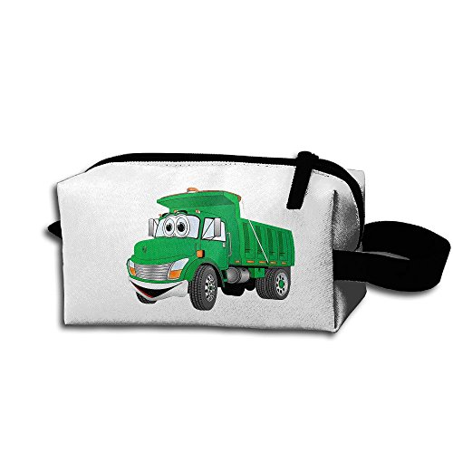 Cartoon Construction Truck Storage Cosmetic Bag Portable Travel Makeup Bag Packing Pouches