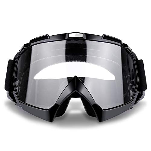 Motorcycle Goggles Anti UV Anti Fog Windproof Dustproof Motocross Riding Glasses