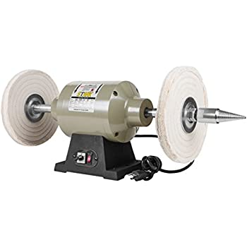 Amazon Com 6 Inch Benchtop Buffer Heavy Duty 1 2 Hp